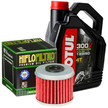 pipercross motorcycle air filter and hiflo oil filter
